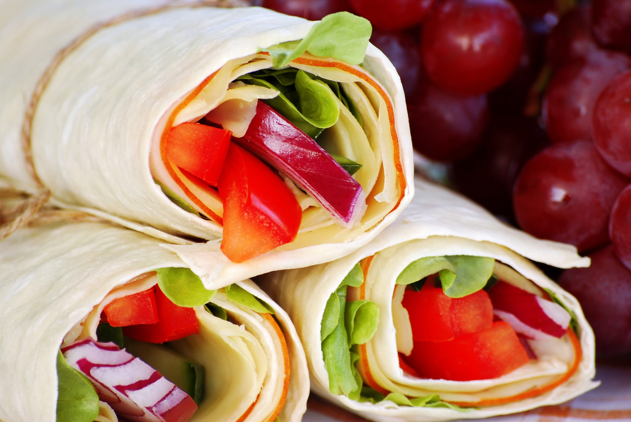 Peppered Ham Wrap