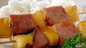 Hawaiian Ham Kabobs Indiana Kitchen 174 Brand Pork Products
