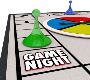 Game Night Family Time Fun Competition Board Pieces