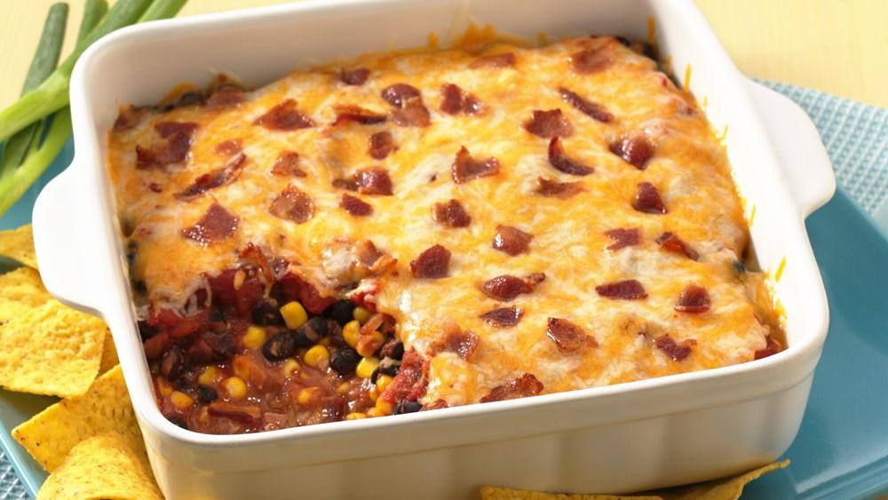 Indiana Kitchen bacon mexican dip