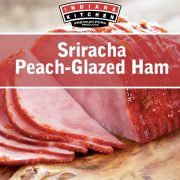 Sriracha Peach Glazed Ham