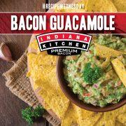 Bacon Guacamole featuring Indiana Kitchen bacon