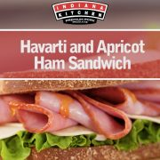 Havarti Apricot Ham Sandwich