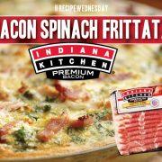 Bacon Spinach Frittata
