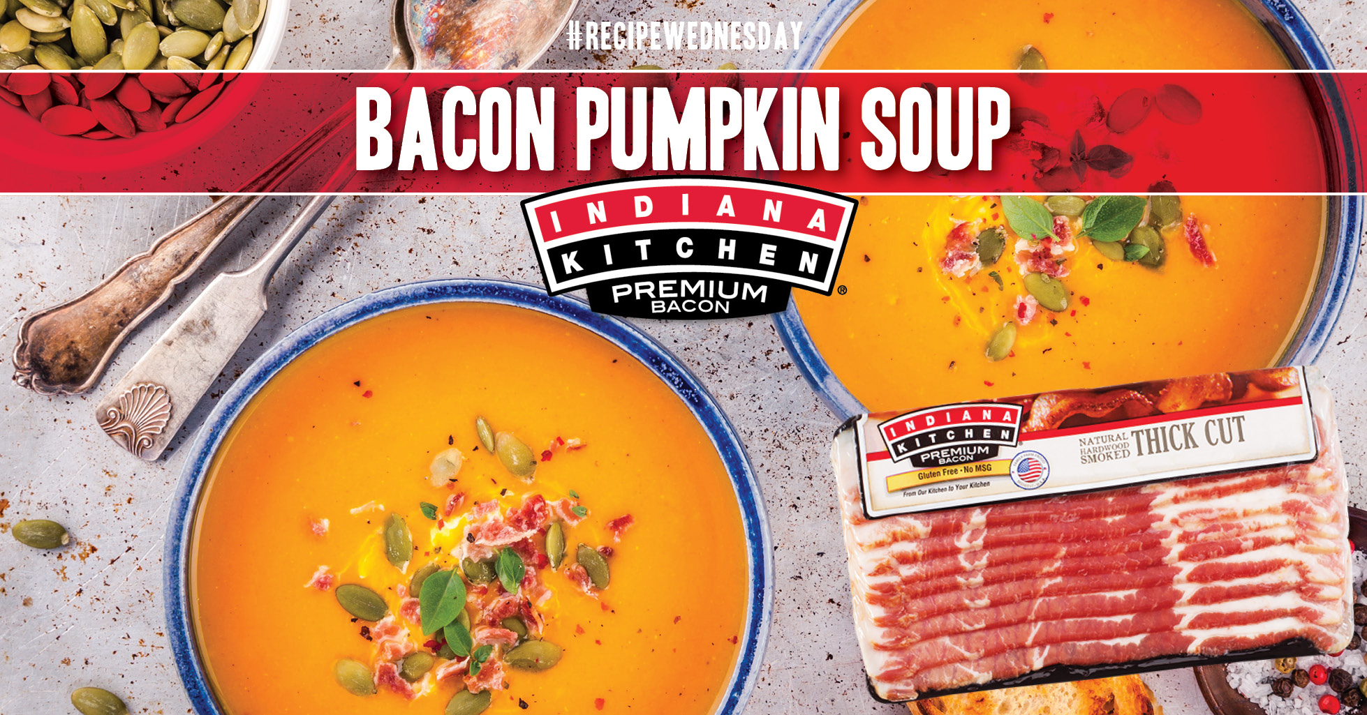 Pumpkin Soup with Bacon Recipe