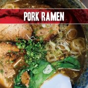 Pork Ramen featuring Indiana Kitchen pork tenderloin