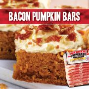 bacon pumpkin bars indiana kitchen frosting delicious easy creative dessert
