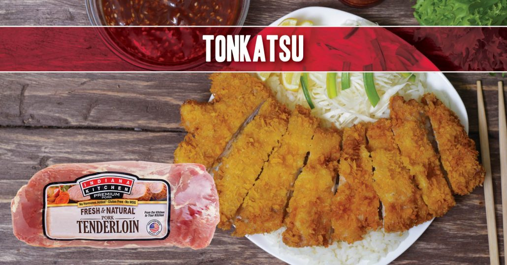 japanese deep fried pork recipe tonkatsu featuring indiana kitchen pork loin