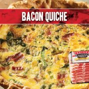 egg quiche with indiana kitchen bacon and asparagus