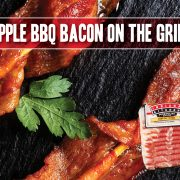 Apple BBQ Bacon Skewers