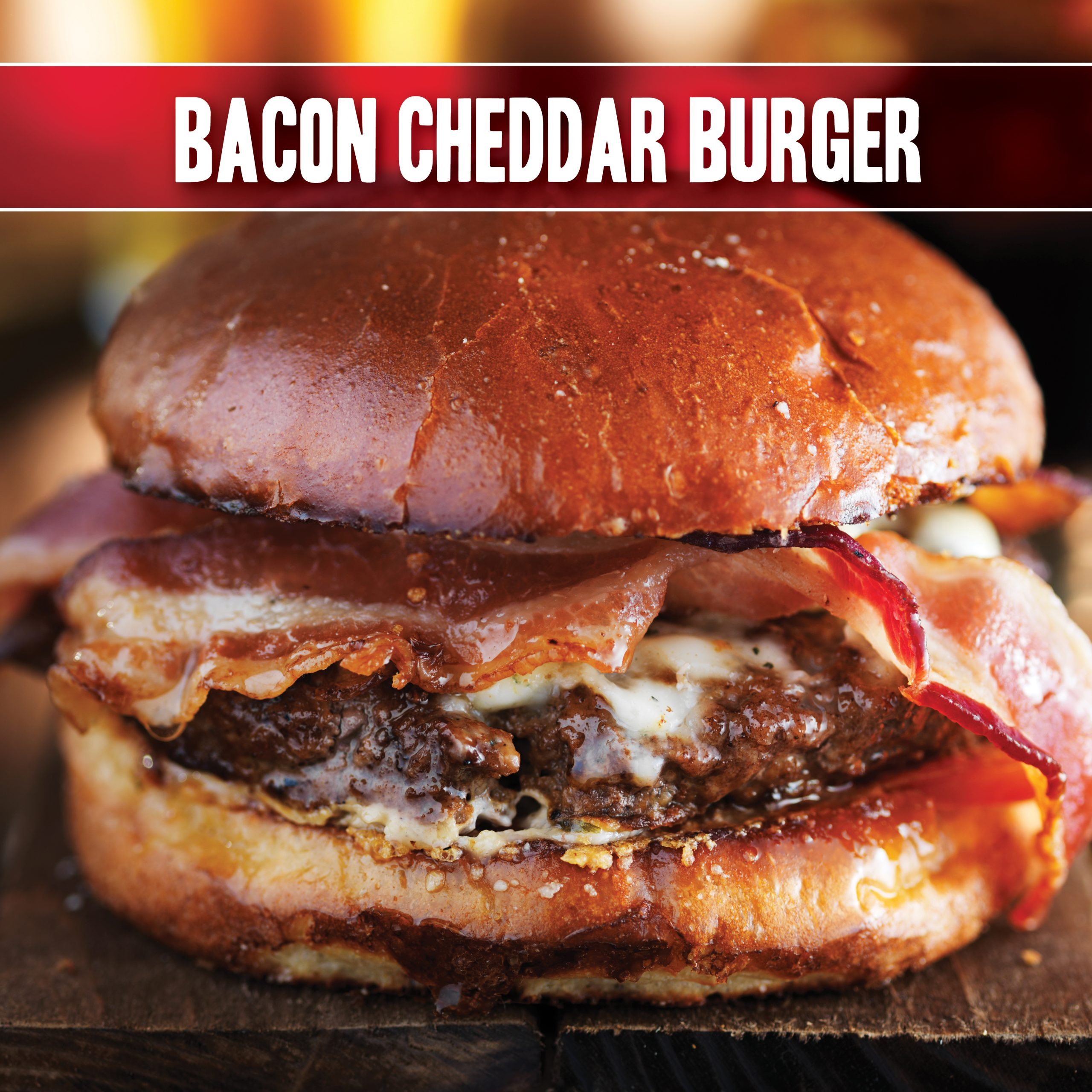 Bacon Cheddar Burger